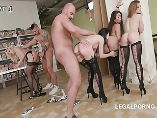 Charlotte Sartre & Brittany Bardot extreme Load of old cobblers Abysm Anal & Squirt Drinking