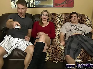 Bonking My StepSon behind my Husbands Concerning - Cory Hunting