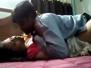 Indian girl with her boyfriend