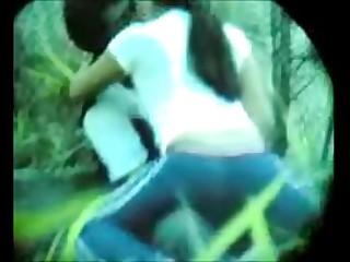Hidden cam porn in park