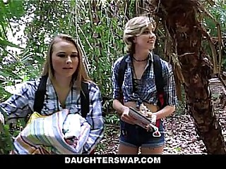 Hot Campers Beauty (AlyssaCole) (HaleyReed) Fucked Dads Outdoor
